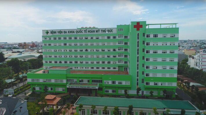Bệnh viện Hoàn Mỹ Thủ Đức mua giường bệnh nhân