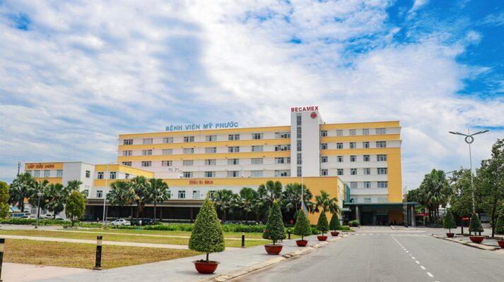 Bệnh viện đa khoa Mỹ Phước mua giường bệnh nhân