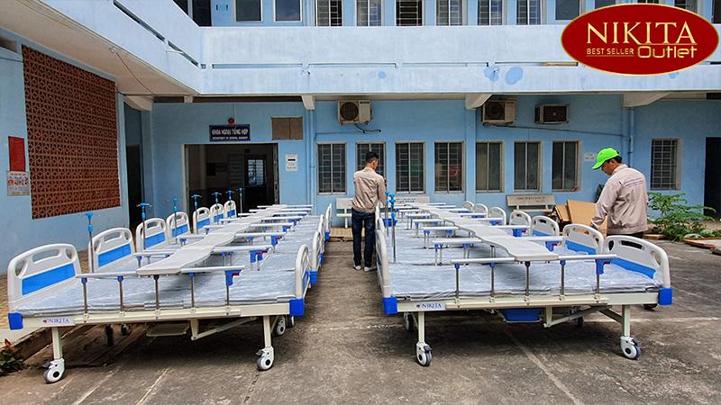Nikita Outlet cung cấp sản phẩm giường bệnh viện đa chức năng cho các bệnh viện, cơ sở y tế, hộ gia đình...