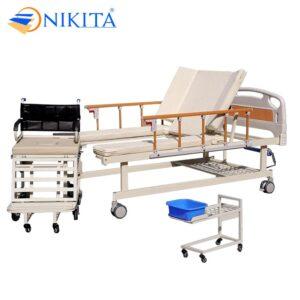 Giường bệnh tách thành xe lăn NIKITA DCN09
