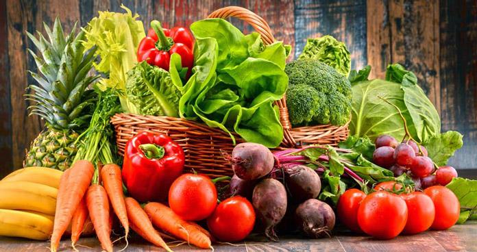 Lựa chọn các loại rau củ, trái cây phù hợp