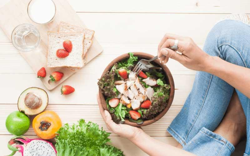 Ăn uống lành mạnh giúp cải thiện tình trạng béo phì